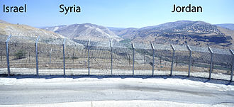 Tripoint - A disputed tripoint between Syria, Israel, and Jordan