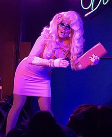 Trixie Mattel performing in Helsinki, April 2017.jpg