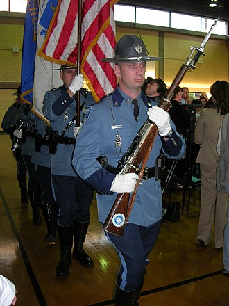 Law enforcement in the United States - Massachusetts State Police Troopers