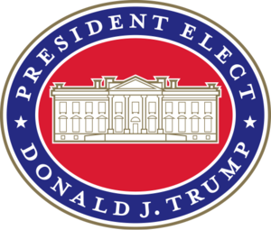 President-elect of the United States - Office of the President-Elect logo used by the Trump transition team