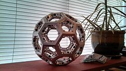 Truncated icosahedron by Sean Journot.jpg