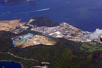 Tseung Kwan O Industrial Estate - Aeral view of Tseung Kwan O Industrial Estate