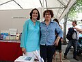 Tsvetanka Elenkova and Mireille Veyssiere, her French publisher, 2018.jpg