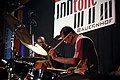 Tulivu-Donna Cumberbatch Quartet - INNtöne Jazzfestival 2013 08 Mark Johnson Rachiim Ausar Sahu.jpg