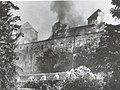 Turku Castle 1941 burning.jpg