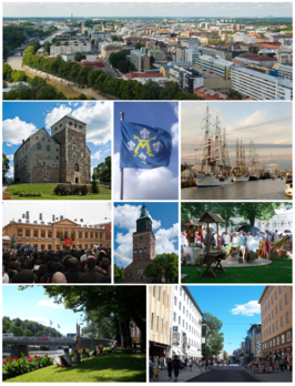 Turku collage