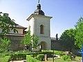 Turnul clopotniţă al Mănăstirii Hlincea.jpg