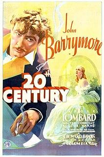 <i>Twentieth Century</i> (film) 1934 film by Howard Hawks