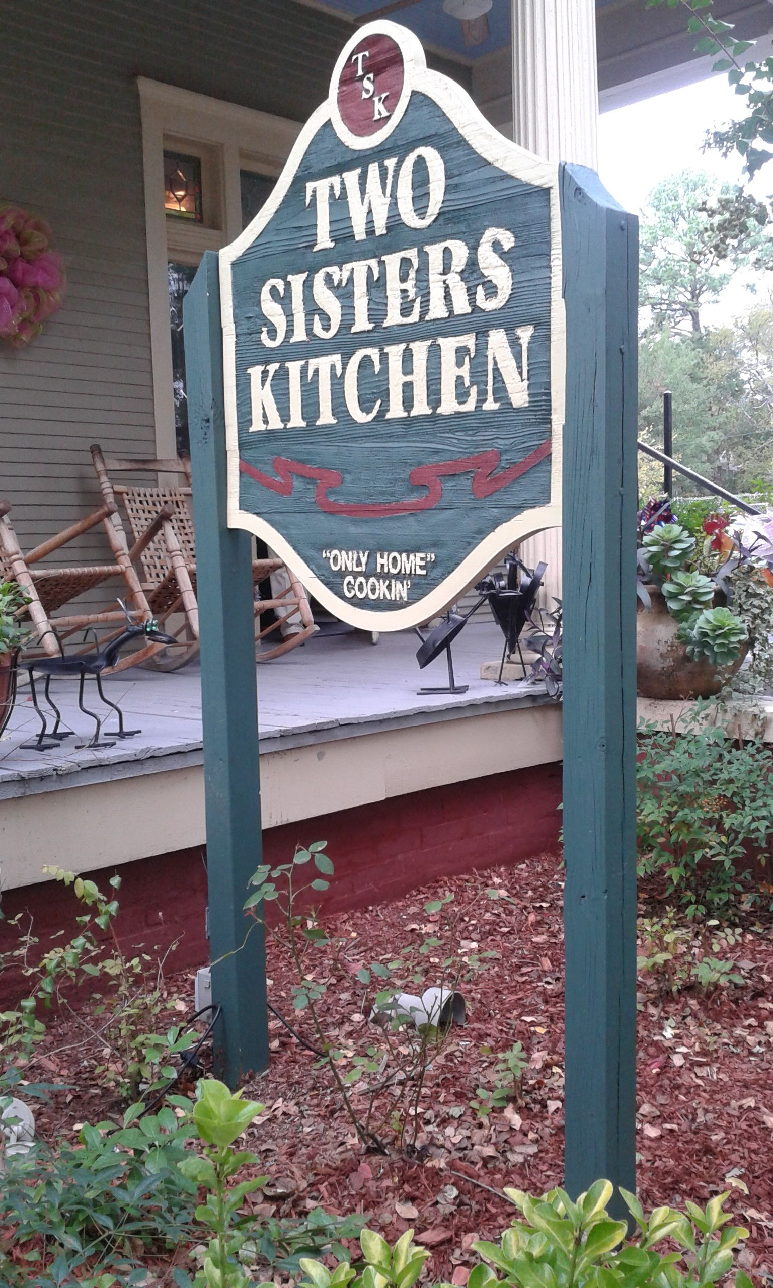 File:Two Sisters Kitchen sign.jpg - Wikimedia Commons