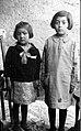 Two girls. Juan Mendez' daughter on left in dark sweater. Village Fuerte Quemado, Santa Maria, Catamarca. 1926. (3567381791).jpg