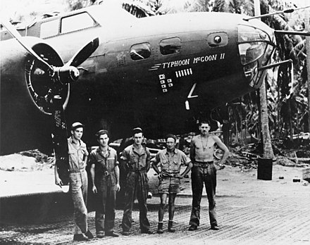 B-17E BO AAF S/N 41-9211