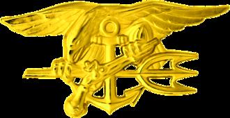 Marc Alan Lee - Image: U.S. Navy SEA Ls Special Warfare insignia