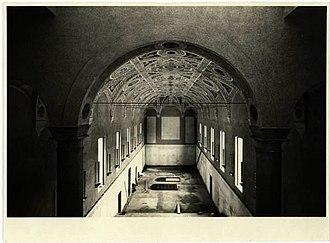 Great Hall of Università Cattolica del Sacro Cuore - Great Hall before restoration