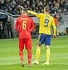 UEFA EURO qualifiers Sweden vs Romaina 20190323 Marcus Berg and Christian Manea.jpg