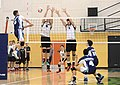 UFV men's volleyball vs Cap Nov 7 2014 40 (15760918825).jpg