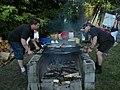 UIATF Pow Wow 2009 - grilling salmon 01.jpg