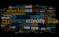 UK Budget statement 2010 wordle.png