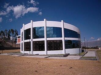 Los Andes Peruvian University - The Library in Chorrillos - Huancayo.