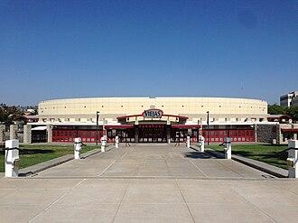Viejas Arena - Image: USA CA San Diego SDSU 001 2013 Viejas Arena