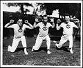USC Cheerleaders perform for camera, 1915 (uaic-che-001~1).jpg