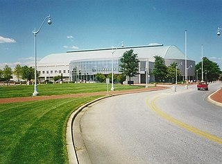 Halsey Field House building in Maryland, United States