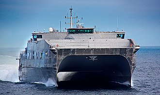 Spearhead-class expeditionary fast transport - Image: USNS Spearhead (JHSV 1) 1