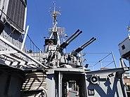 USS Cassin Young 40 mm Bofors AA guns