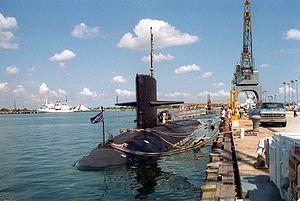 Submarine incident off Kola Peninsula - Image: USS Grayling (SSN 646)