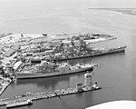USS Iowa (BB-61) and Norton Sound (AVM-1) at Ingalls 1983.JPEG