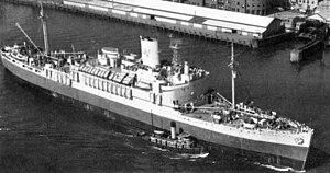 USS Lejeune (AP-74) - Image: USS Lejeune (AP 74)