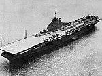 USS Leyte (CV-32) at anchor at Guantanmo Bay in 1946.jpg