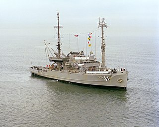 USS <i>Opportune</i> (ARS-41) Bolster-class rescue and salvage ship