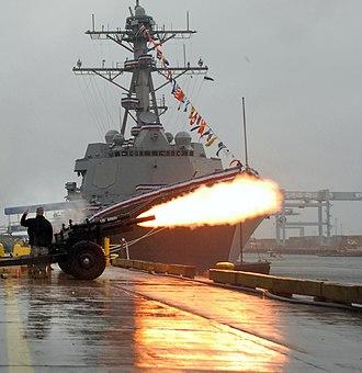USS Sampson (DDG-102) - The commissioning of USS Sampson.
