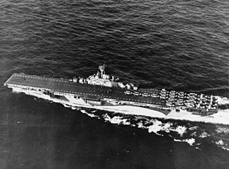 USS Yorktown (CV-10) - Yorktown with planes of Carrier Air Group 1