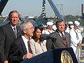 US Navy 020907-N-3399W-001 SECNAV announces naming of USS New York (LPD 21).jpg