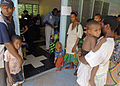 US Navy 070813-N-4954I-094 Villagers wait for medical evaluations at the Ileg Clinic near Madang.jpg
