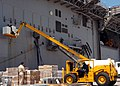 US Navy 080919-A-6489K-016 Sailors from the amphibious assault ship USS Kearsarge (LHA 3) gather provisions from U.S. Naval Station Guantanamo Bay.jpg