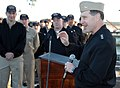 US Navy 090128-N-1655H-004 Vice Adm. Bruce W. Clingan addresses the crew of USS Nashville (LPD 13).jpg