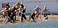 US Navy 090212-N-9689V-003 Participants race into the water at Smugglers Cove, Naval Base Point Loma kicking off the base's 15th annual.jpg