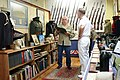 US Navy 110713-N-QE550-001 Charles Baylis gives Rear Adm. Donald P. Quinn a tour of the Military History Societies Museum.jpg