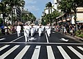 US Navy 111217-N-TT584-007 The U.S. Pacific Fleet Marching Band participates in a parade honoring members of the 100th Infantry Battalion, 442nd Re.jpg