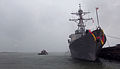 US Navy 120127-N-YT478-005 The guided-missile destroyer USS Ramage (DDG 61) arrives at Naval Station Norfolk.jpg