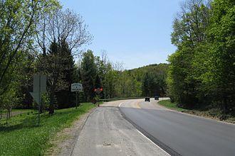 New Ashford, Massachusetts - Entering New Ashford