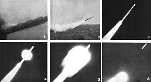 UUM-44 SUBROC - Subroc launch sequence, 1964.