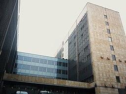 Vojvodæmbetbygningen i Poznań.