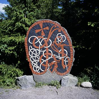Runestone in Sweden