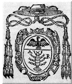 Uberto Gambara - Coat of arms of Cardinal Uberto Gambara