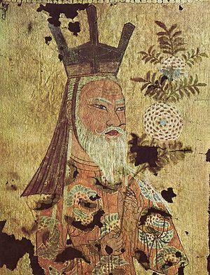 Uyghurs - An 8th-century Uyghur Khagan