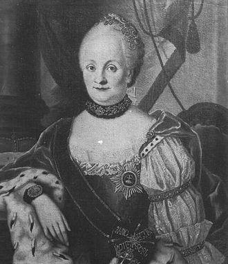 Princess Ulrike Friederike Wilhelmine of Hesse-Kassel - Image: Ulrica Friederica Gemahlin des Bischofs