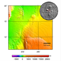 Ulysses Fossae - topography map.png